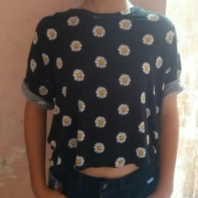 Sixence Daisy Croptop