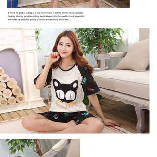 BN Sleeveless Cat and Fish Pyjamas $14