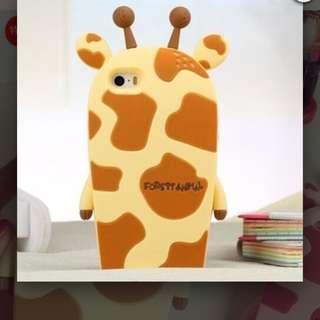 Iphone6 🍎可愛長頸鹿造型手機軟殼