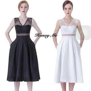 泰國設計師品牌 春夏質感小禮服 洋裝 白