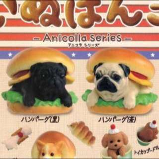 已徵到❤️ 麵包狗 點心狗 第三代 第四代 漢堡巴哥兩款 巴戈