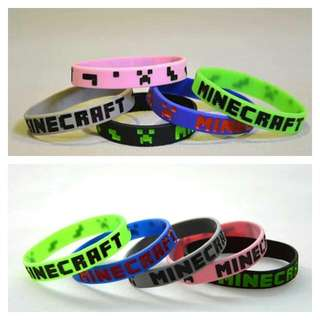 Minecraft WristBands