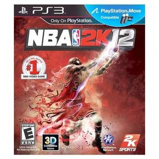 PS3 NBA 2K12