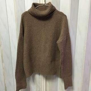 全新 厚針織 高領毛衣(兩件出清含運價 一件NT$200)