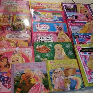 Barbie Books Sold In Bulk ( Negotiable To Closest Offer)