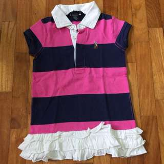 Ralph Lauren Preloved Girls Dress 2T