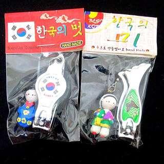 《韓國korea》捏麵人指甲剪