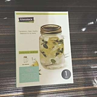 Glasslock 經典附手柄玻璃密封罐500ml