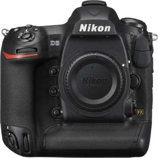 New Nikon D5 Full-frame DSLR Camera!