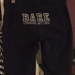Running Bare 3/4 Track Pants $20 Size 14