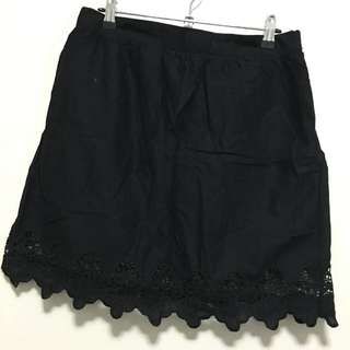 Miss Shop Embroidered Skirt - Size 12