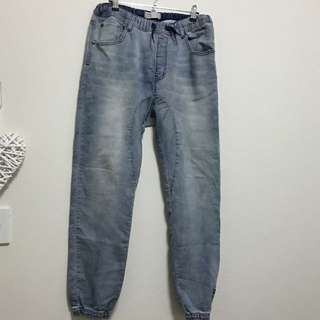 Cotton On Harem Denim Pants - Size 12