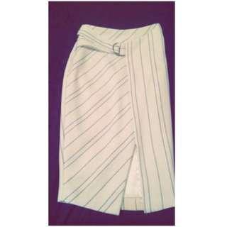 Sheike Striped Skirt