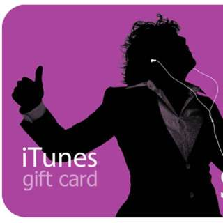 iTunes Gift Card USA $100 Value