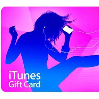 iTunes Gift Card USA $25 Value