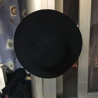 黑-大圓帽