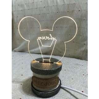 米老鼠 小夜燈
