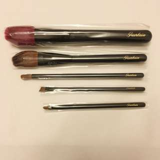 Guerlain Brushes 5 Pieces (brand New)