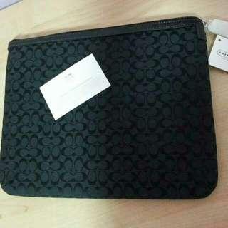 BN Authentic Coach Tablet Sleeve