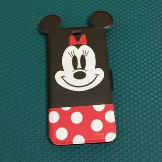 I Phone 6 plus 米妮 掀蓋手機殼