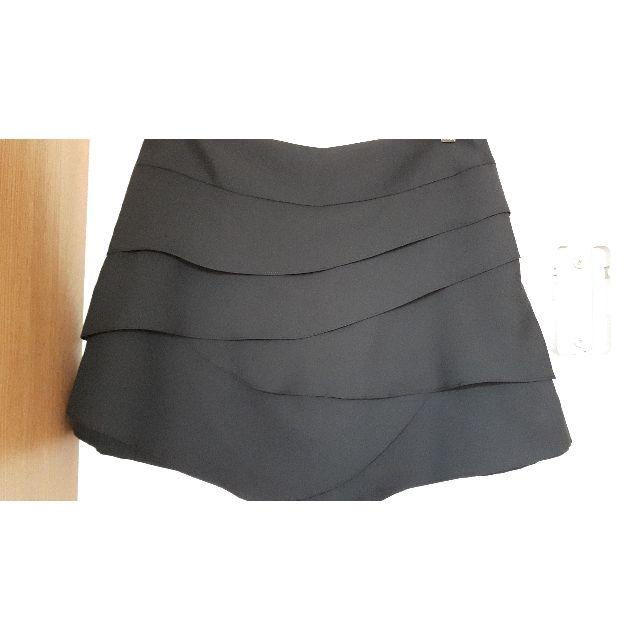 全新正韓27腰L號黑色蛋糕裙褲裙