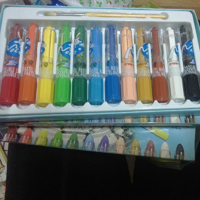 買一送一!!8.5成新水溶性油畫筆