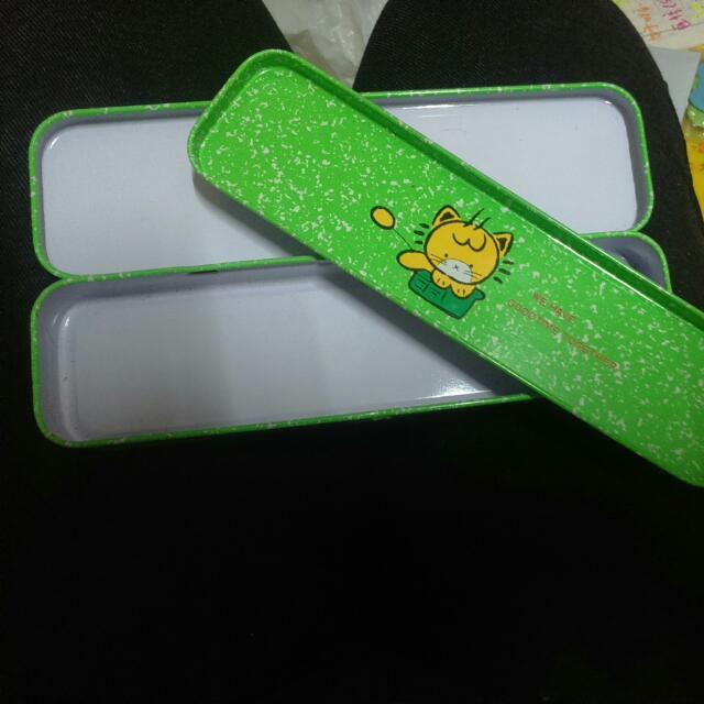🆕小獅子鐵盒鉛筆盒