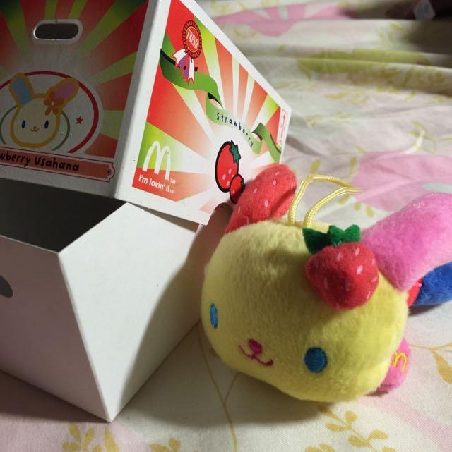 超可愛草莓兔