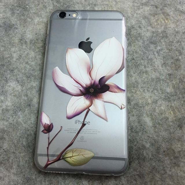 玉蘭花 茶花 蓮花 iphone 6plus 6s 5s 原創時尚手機殼 (其他廠牌也可客製唷) 軟硬殼 有防塵塞
