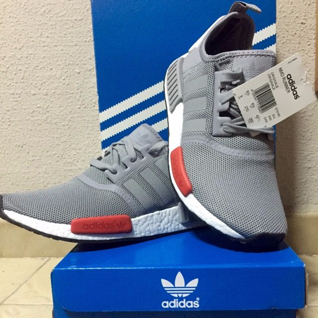 4614b6be2005 One day Promo Price) Adidas NMD Moscow Grey US9