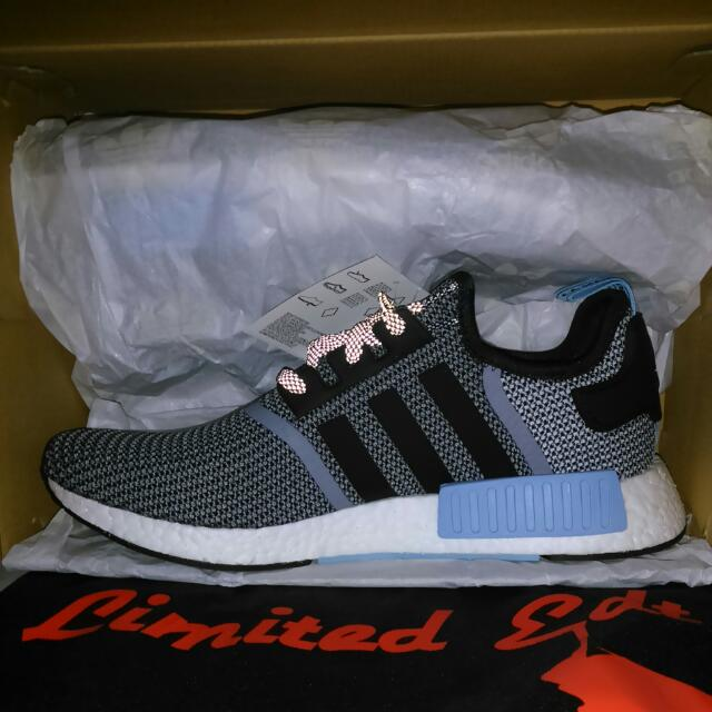 wholesale dealer 22b29 13fc8 Adidas Nomad Nmd Runner Clear Blue