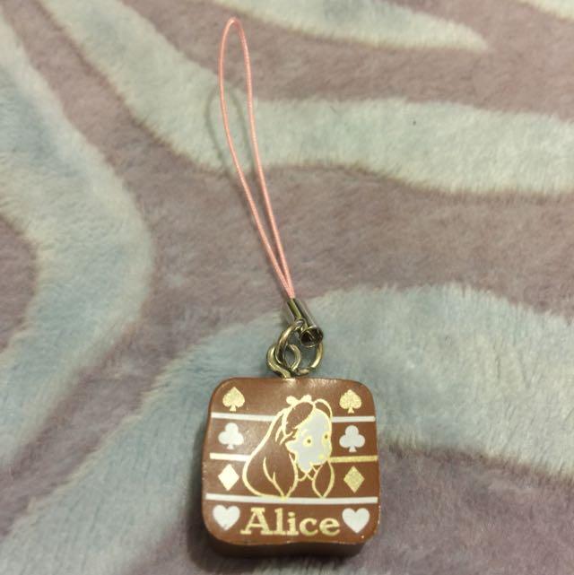 Alice 巧克力 吊飾