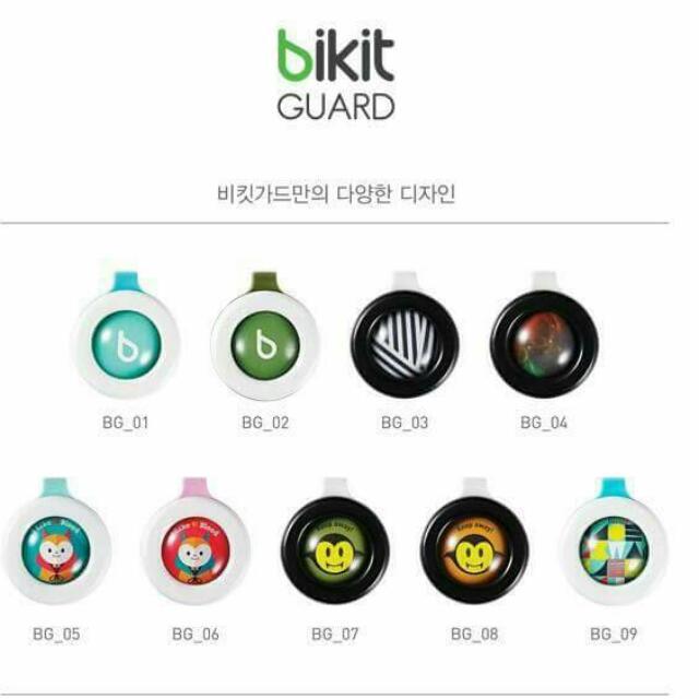 韓國Bikit Guard 精油防蚊扣