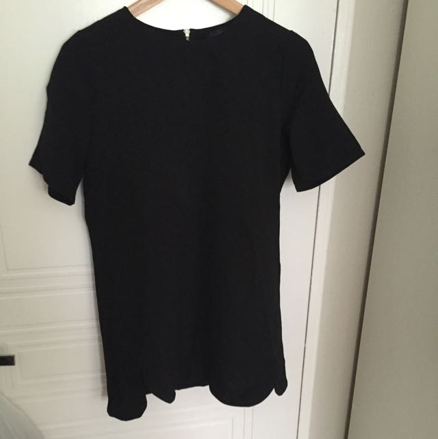 Black Shift Dress Size 12