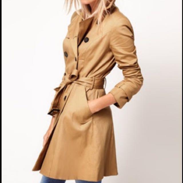 Camel Coat Jacket