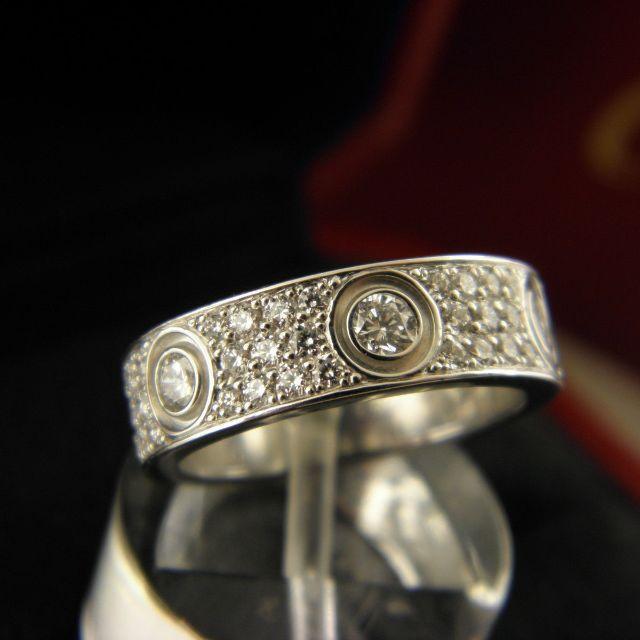 da885e87449 Cartier Love Wedding Band   Ring - Diamond Paved (Ref  B4083400 ...