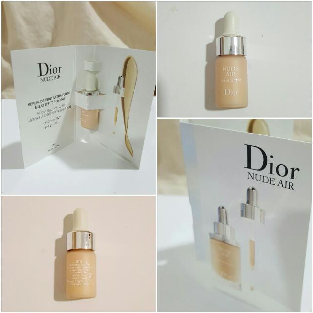 DIOR Diorskin Nude Air Serum Foundation SPF 20