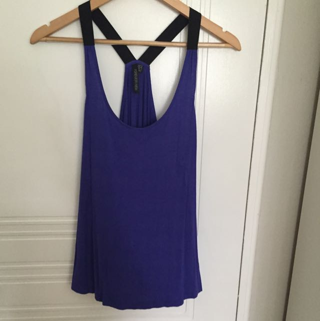 Electric Blue Top Size 12
