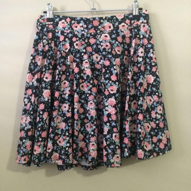 Factorie -Floral Skirt