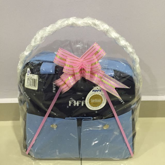 (REDUCED) Fiffy Mama Diaper Bag Gift Set
