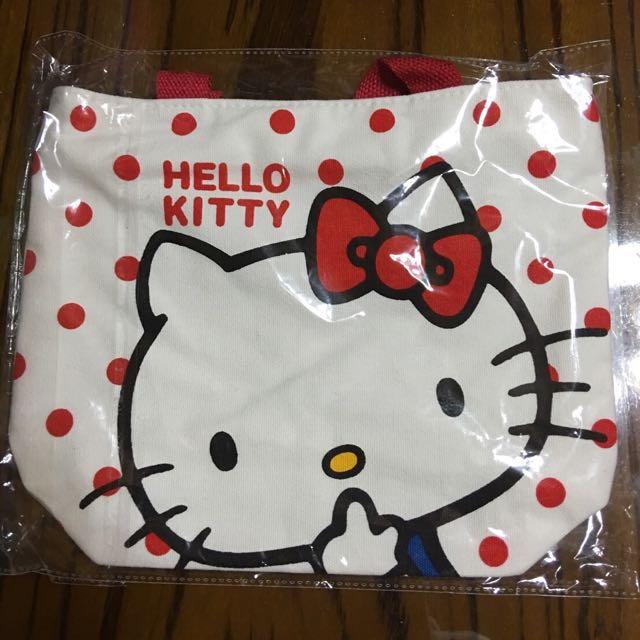 全新✨Hello Kitty手提袋