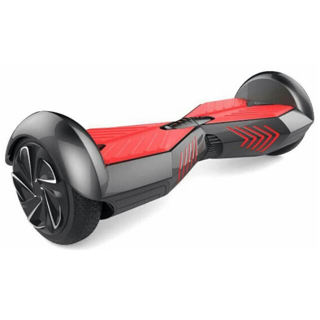 Hoverboard Swing Car Smart Electric Unicycle Scooter 10KM/H - Black/Red