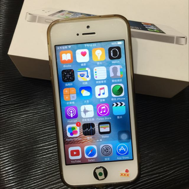 iPhone 5 16G 銀白