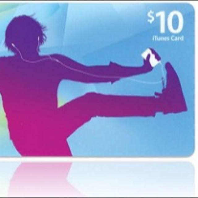 iTunes Gift Card USA $10 Value