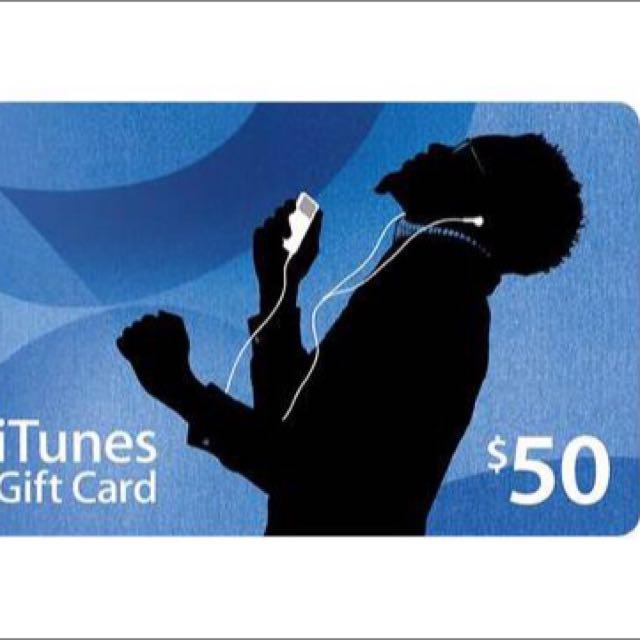 iTunes Gift Card USA $50