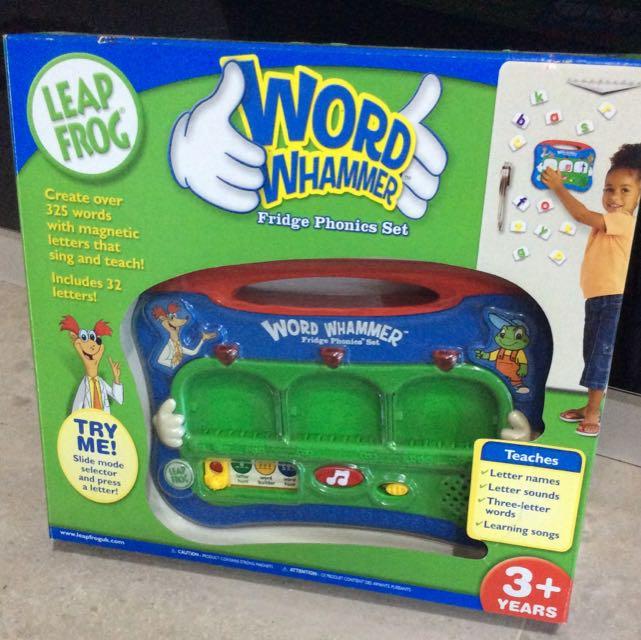 Leapfrog Word Wham Met Fridge Phonics Set Babies Kids On Carousell