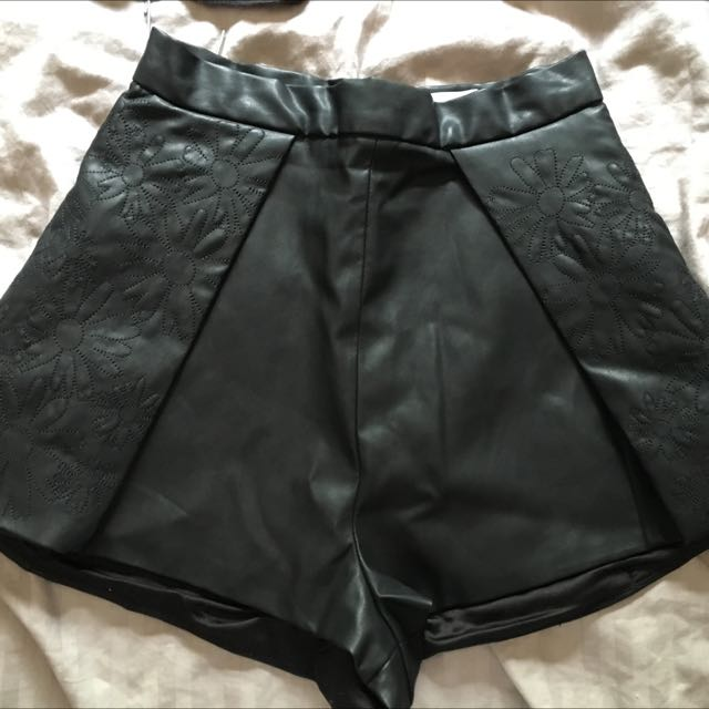 Leather Shorts FindersKeepers