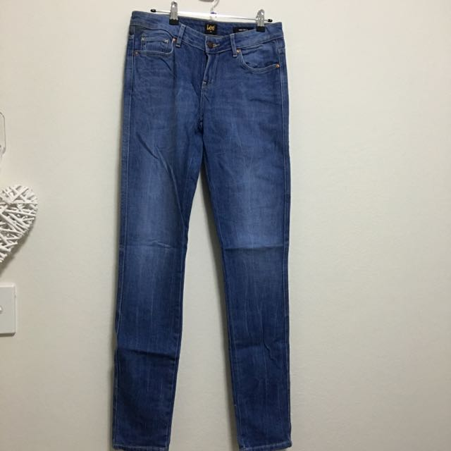 Lee Japanese Denim Supa Skinny - Size 10