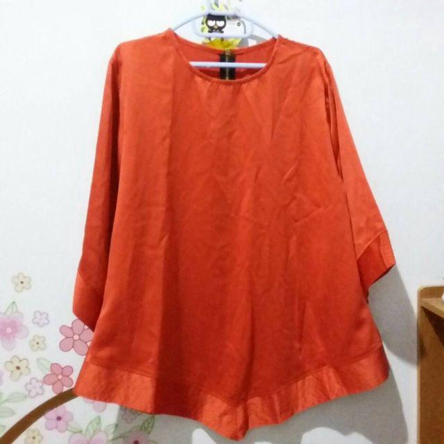 [New] Orange Blouse