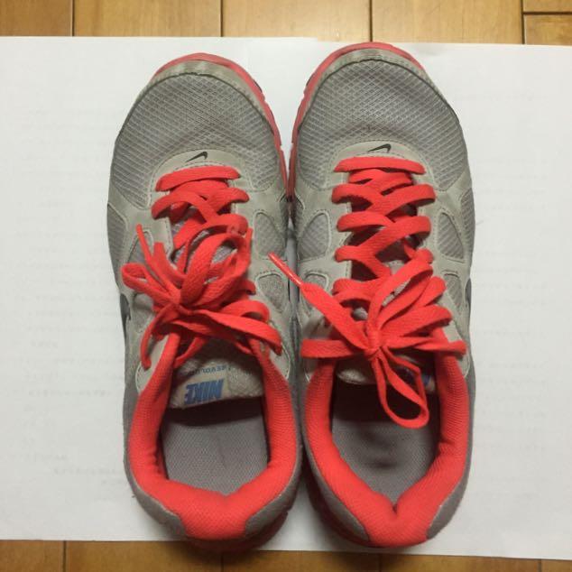 NIKE 慢跑鞋 運動鞋 25號